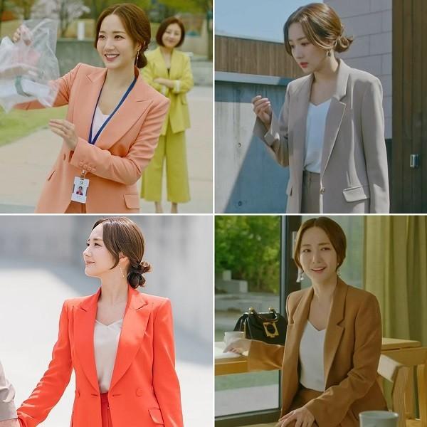 Lỗi kết hợp màu sắc khi diện thời trang công sở Hàn Quốc - Ảnh 23