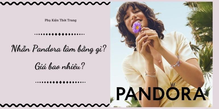 Nhẫn Pandora quyến rũ nhiều màu sắc đa dạng kiểu mẫu - Ảnh Cover