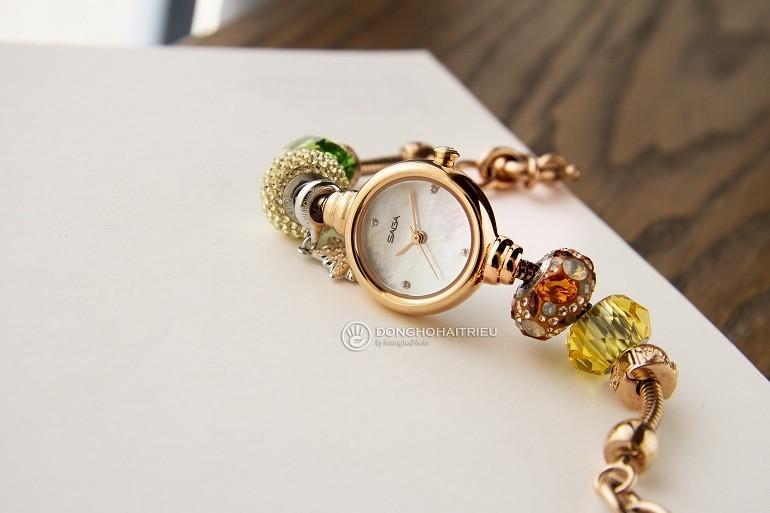 Saga 53229 RGMWRG-2 là đồng hồ dạng trang sức Pandora - Ảnh 11