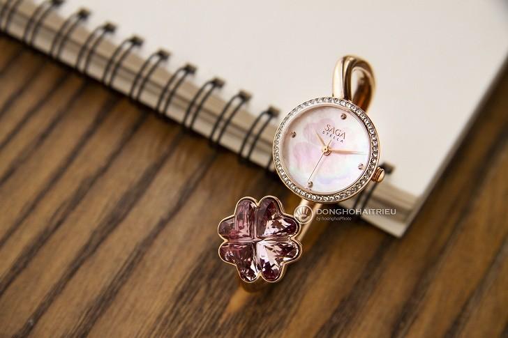 Đồng hồ vòng tay Saga 53585 RGMPRG-2L - Ảnh 10