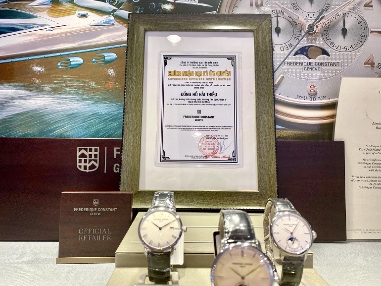 Đồng hồ cơ Frederique Constant FC-335MC4P6 trữ cót 40 giờ - Ảnh: 8