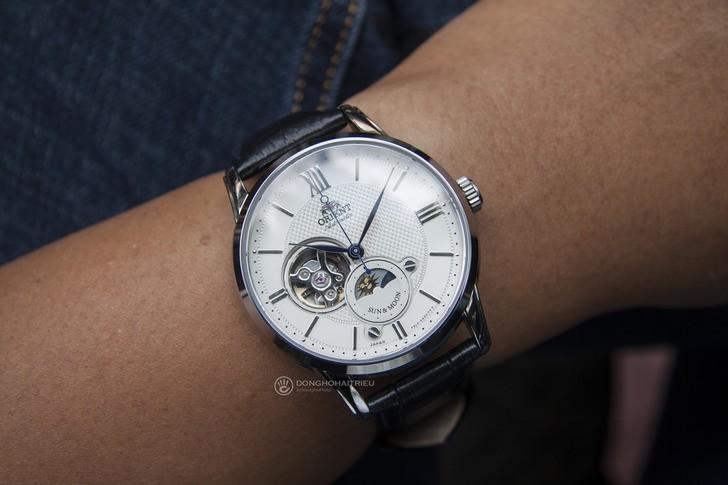 Đồng hồ Orient RA-AS0005S00B: Ấn tượng đến từ Sun and Moon - Ảnh 1
