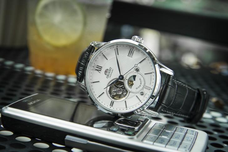 Đồng hồ Orient RA-AS0005S00B: Ấn tượng đến từ Sun and Moon - Ảnh 2