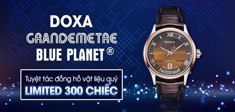 Giới thiệu Doxa Grandemetre, tuyệt tác đồng hồ phiên bản giới hạn