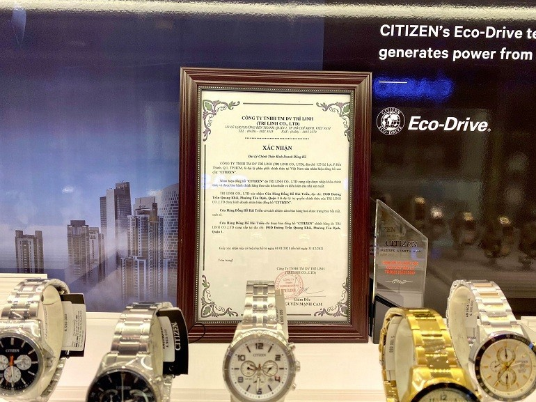 Tháng 5, 6: Tặng ví da Fujita Nhật cao cấp 1 triệu khi mua Citizen nam - Ảnh: 7