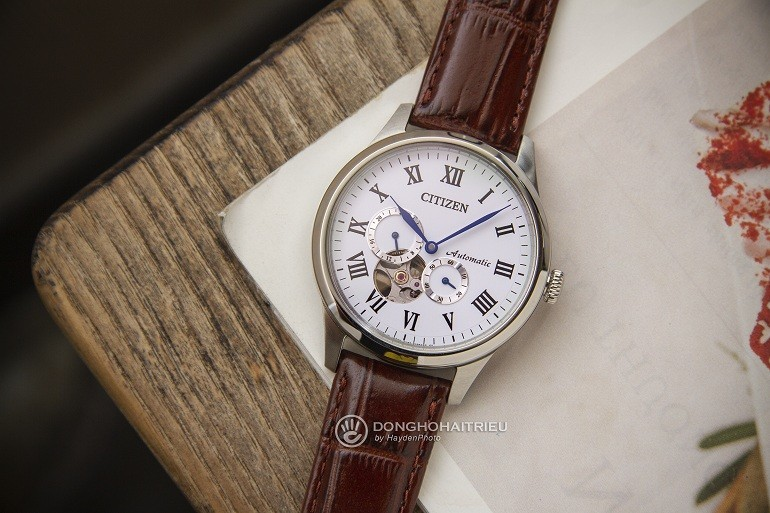 10 dong ho citizen automatic lo may open heart ban chay nhat