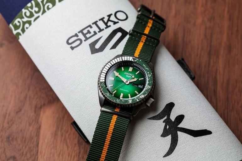 Đánh giá đồng hồ Seiko 5 Naruto Limited Edition toàn tập - Ảnh: 14