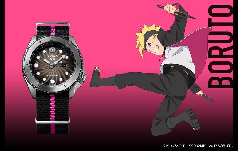 Đánh giá đồng hồ Seiko 5 Boruto Limited Edition toàn tập - Ảnh: 17