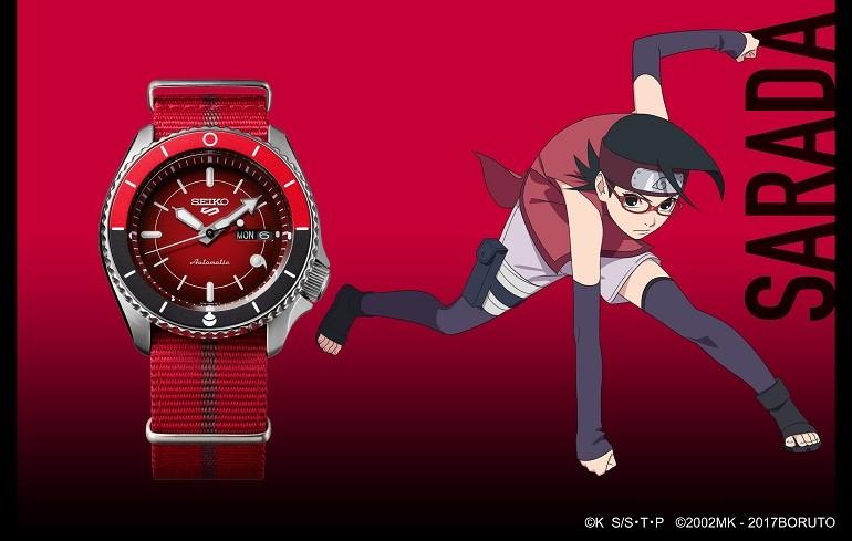 Đánh giá đồng hồ Seiko 5 Boruto Limited Edition toàn tập - Ảnh: 18