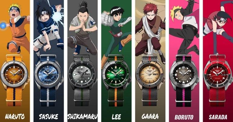 Đánh giá đồng hồ Seiko 5 Naruto & Boruto Limited Edition toàn tập - Ảnh: 5