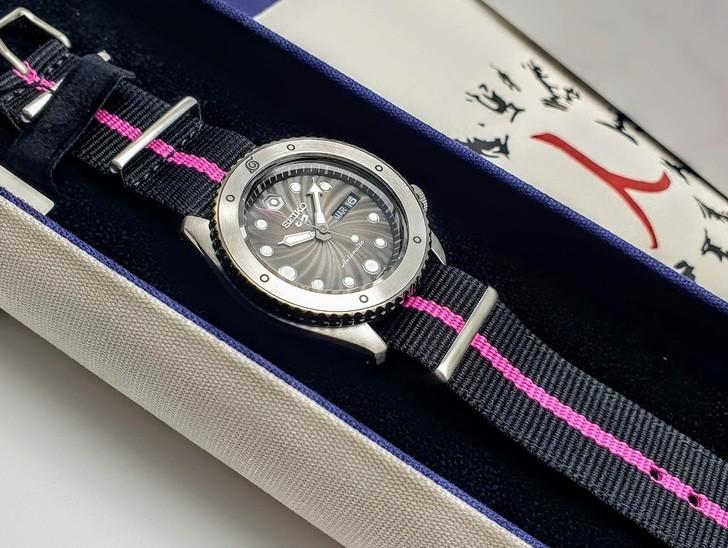 Đồng hồ Seiko SRPF65K1: Nguồn cảm hứng từ thế hệ Boruto - Ảnh 4