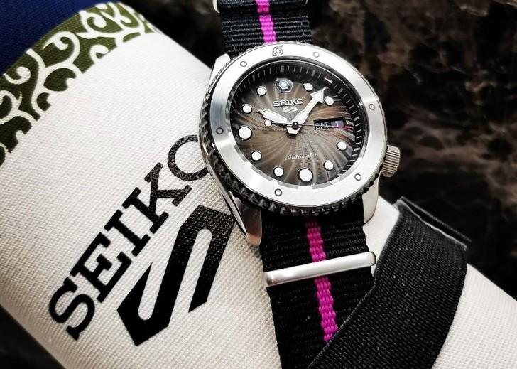 Đồng hồ Seiko SRPF65K1: Nguồn cảm hứng từ thế hệ Boruto - Ảnh 6