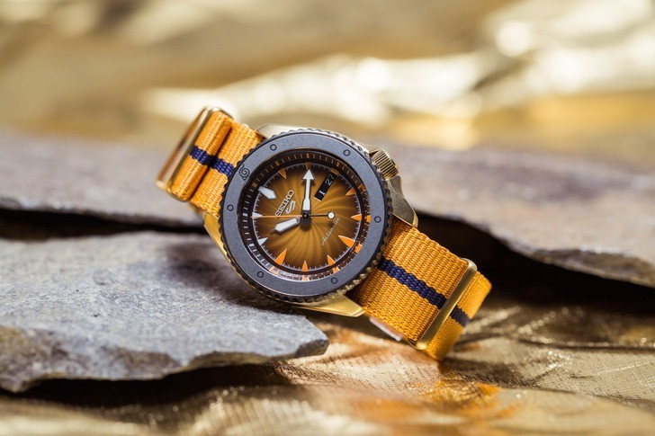 Đồng hồ Seiko SRPF70K1Automatic, trữ cót lên đến 40 giờ - Ảnh 2