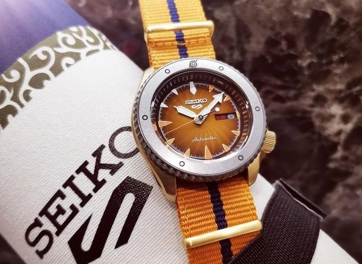 Đồng hồ Seiko SRPF70K1Automatic, trữ cót lên đến 40 giờ - Ảnh 3