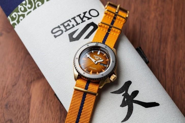 Đồng hồ Seiko SRPF70K1Automatic, trữ cót lên đến 40 giờ - Ảnh 4