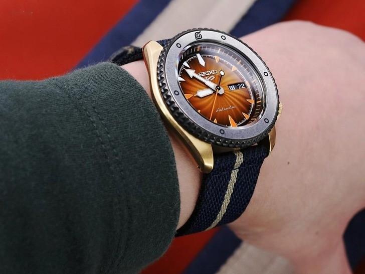 Đồng hồ Seiko SRPF70K1Automatic, trữ cót lên đến 40 giờ - Ảnh 5