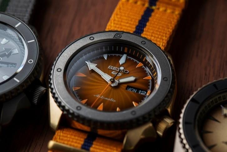 Đồng hồ Seiko SRPF70K1Automatic, trữ cót lên đến 40 giờ - Ảnh 6