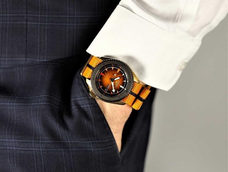 Đồng hồ Seiko SRPF70K1Automatic, trữ cót lên đến 40 giờ - Ảnh 7
