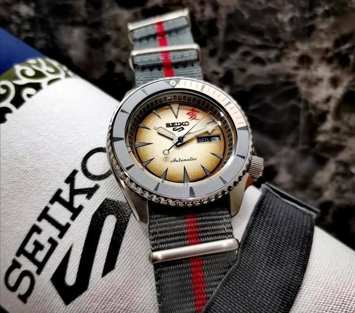 Đồng hồ Seiko SRPF71K1 Automatic, trữ cót lên đến 40 giờ - Ảnh 2