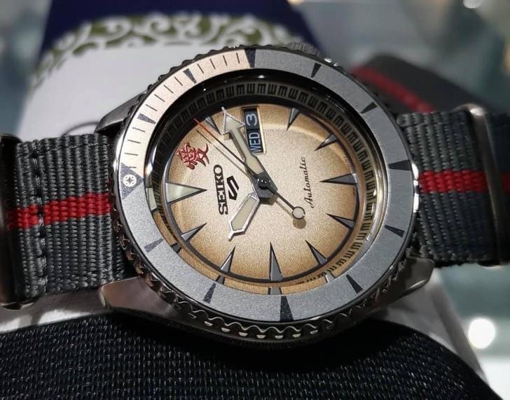 Đồng hồ Seiko SRPF71K1 Automatic, trữ cót lên đến 40 giờ - Ảnh 3