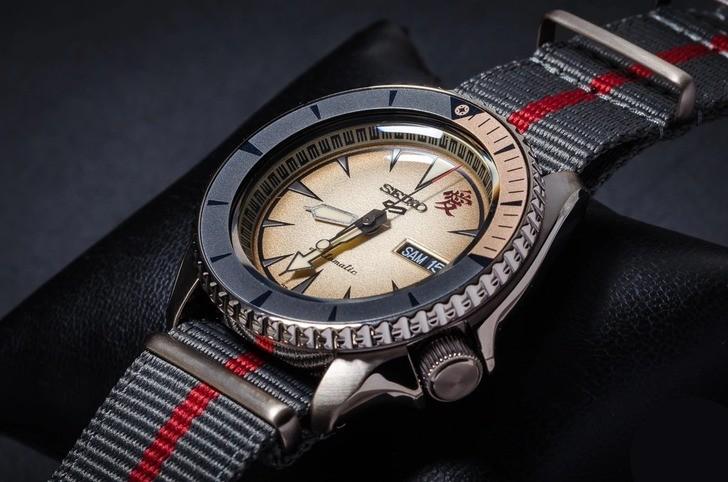 Đồng hồ Seiko SRPF71K1 Automatic, trữ cót lên đến 40 giờ - Ảnh 4