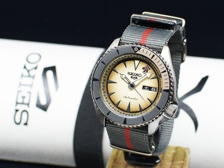Đồng hồ Seiko SRPF71K1 Automatic, trữ cót lên đến 40 giờ - Ảnh 7