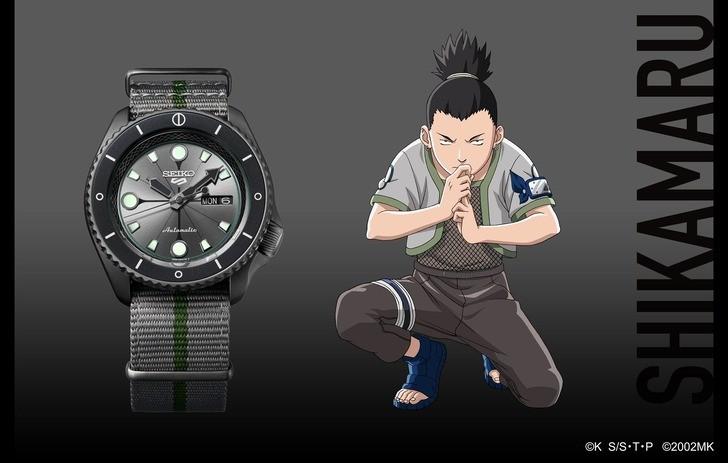 Đồng hồ Seiko SRPF75K1: Dấu ấn đến từ quân sư Shikamaru - Ảnh 1