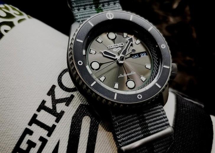 Đồng hồ Seiko SRPF75K1: Dấu ấn đến từ quân sư Shikamaru - Ảnh 2