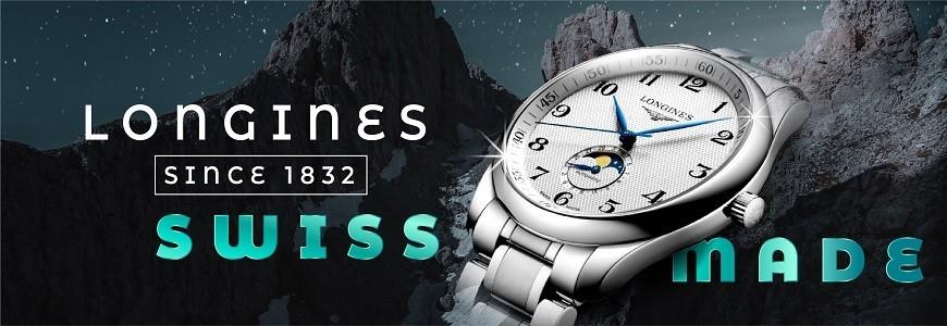 Đồng hồ Longines nam, nữ chính hãng 100% nhập khẩu Thụy Sỹ