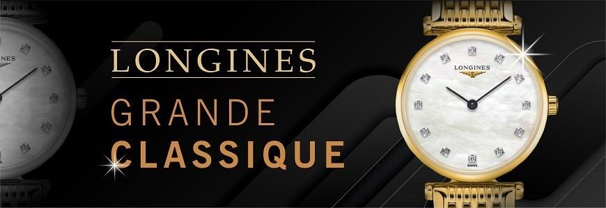 Đồng hồ Longines Grande Classique chính hãng 100% Thụy Sỹ