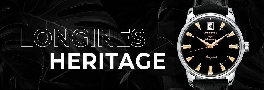 Đồng hồ Longines Heritage chính hãng 100% nhập từ Thụy Sỹ