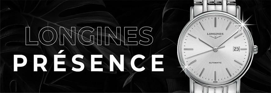 Đồng hồ Longines Présence chính hãng 100% nhập Thụy Sỹ