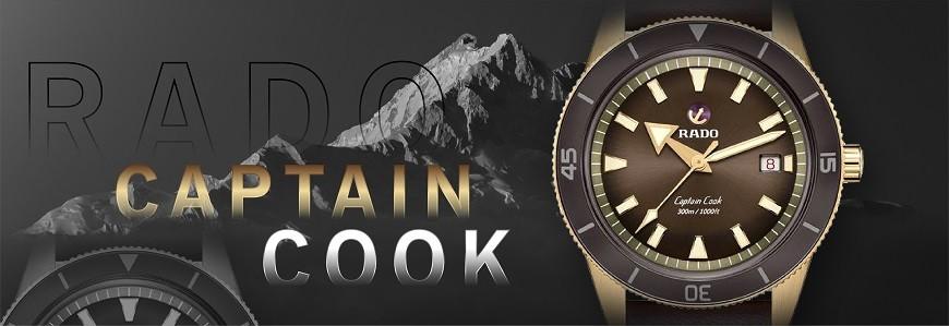 Đồng hồ Rado Captain Cook chính hãng 100% nhập Thụy Sỹ
