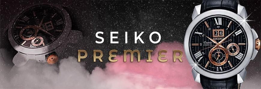 Đồng hồ Seiko Premier chính hãng 100%, mẫu mới, giá tốt