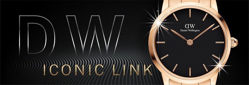 Đồng hồ Daniel Wellington (DW) iconic link chính hãng 100%