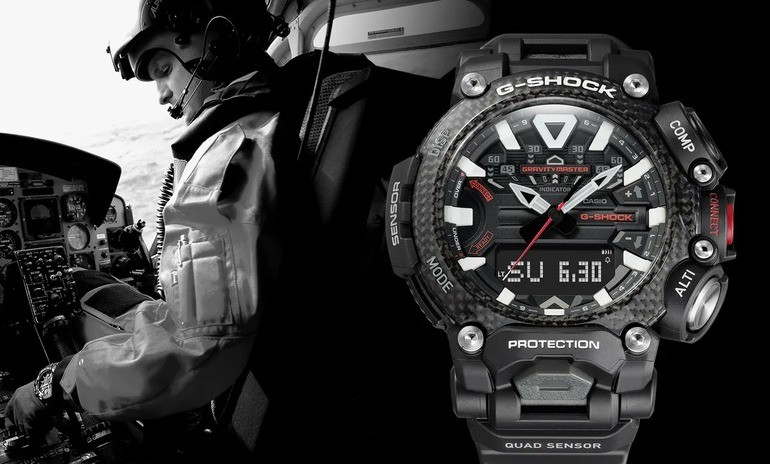 5 cách check đồng hồ casio G-Shock fake cực dễ, 100% chuẩn xác - Ảnh: 11