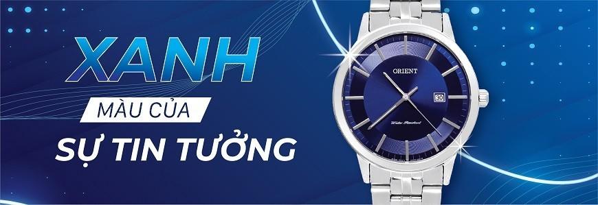 Đồng hồ mặt màu Xanh (Xanh biển, xanh dương, xanh da trời)