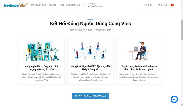 10 website tuyển Freelance Design (thiết kế) lớn nhất VN
