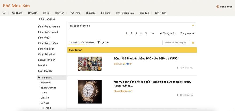 10 địa điểm mua bán đồng hồ cũ chính hãng, uy tín nhất - Ảnh: 4