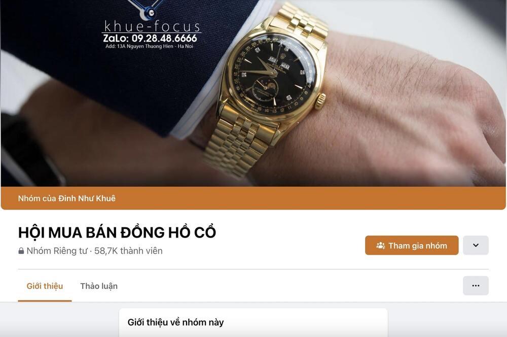 10 địa điểm mua bán đồng hồ cũ chính hãng, uy tín nhất - Ảnh: 7