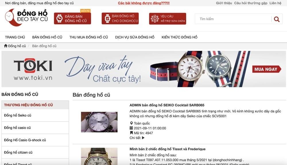 10 địa điểm mua bán đồng hồ cũ chính hãng, uy tín nhất - Ảnh: 9
