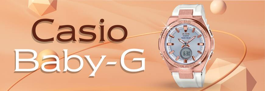300+ mẫu đồng hồ Baby-G chính hãng siêu bền, giá tốt nhất
