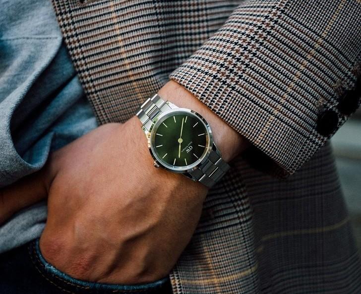 Đồng hồ Daniel Wellington DW00100427: Mặt số xanh quyến rũ - Ảnh 2