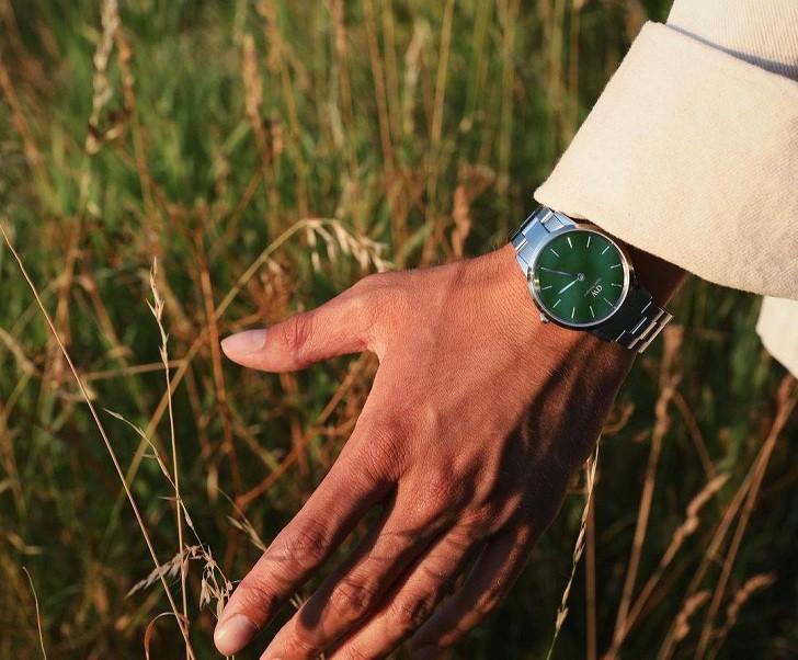 Đồng hồ Daniel Wellington DW00100427: Mặt số xanh quyến rũ - Ảnh 3