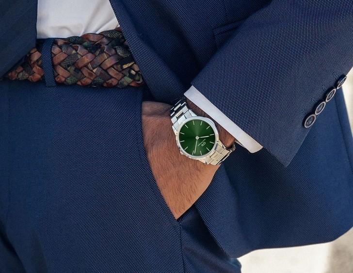 Đồng hồ Daniel Wellington DW00100427: Mặt số xanh quyến rũ - Ảnh 4