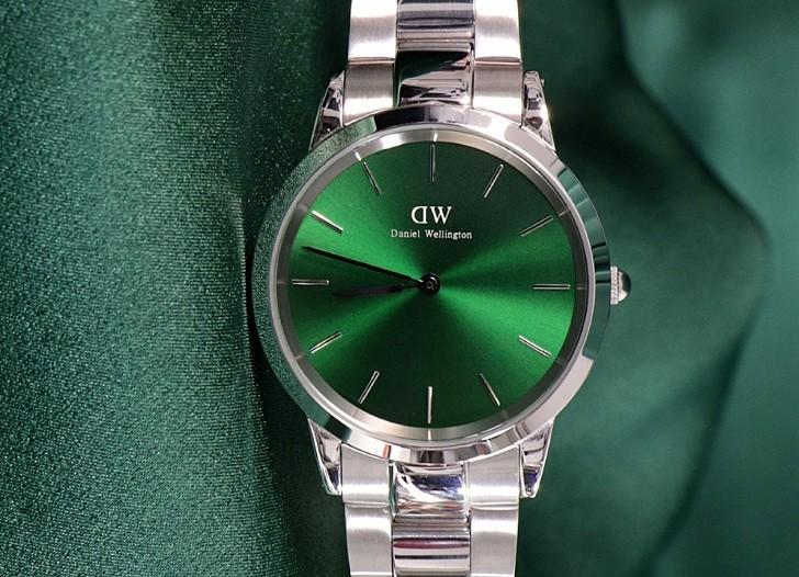 Đồng hồ Daniel Wellington DW00100427: Mặt số xanh quyến rũ - Ảnh 5
